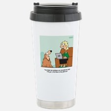 FleasNavidad Stainless Steel Travel Mug