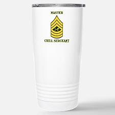 GRILL SERGEANT-MASTER Stainless Steel Travel Mug