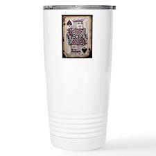 vintage play cards king Travel Coffee Mug