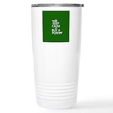 Keep Calm Buy A Pony Travel Coffee Mug