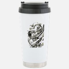 Dragon  Phoenix Tattoo  Travel Mug