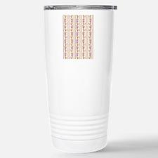 Yellow and Lilac Wallpa Travel Mug