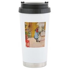 Churning Butter (square Travel Mug