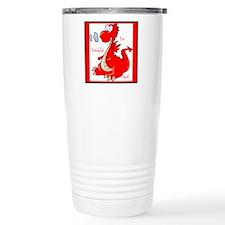 Cute Red Baby Dragon Travel Mug