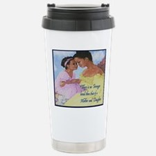 Mother and Daughter Big Stainless Steel Travel Mug