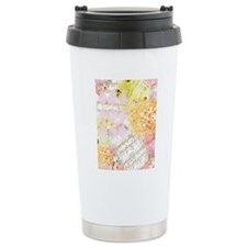 Chopin Florals Travel Coffee Mug