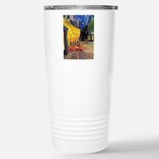 Van Gogh, Cafe Terrace  Stainless Steel Travel Mug