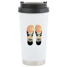 FLIP FLOP TURTLE TROPIC Travel Mug