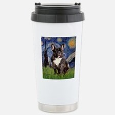 Starry-Brindle French B Travel Mug
