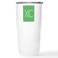 XC Run Run Green Travel Coffee Mug