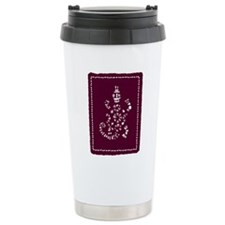 African Tribal Turtle P Travel Coffee Mug