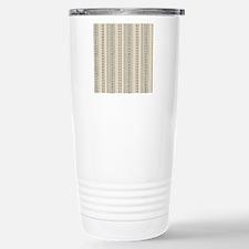 Earth Rain Pattern Travel Mug
