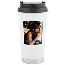 Michelle Obama Cookie J Travel Coffee Mug