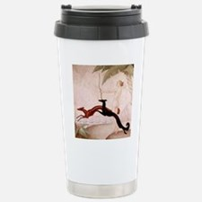 Art Deco Borzoi Diana Stainless Steel Travel Mug