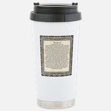 Olde Goth Design Deside Stainless Steel Travel Mug