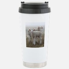 Frosty Lambs Cropped Travel Mug