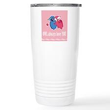 Romantic Owls Travel Coffee Mug