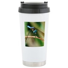 Blue Dash Skimmer Drago Travel Mug