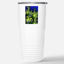 Yoga Aum Om Neon Green  Travel Mug