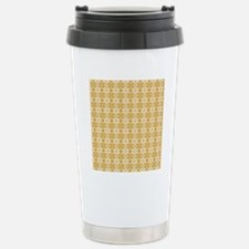 Gold Damask Travel Mug