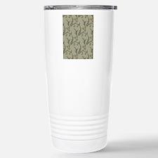 Pale Green Vintage Travel Mug