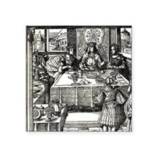 """Maximilian of Burgundy and  Square Sticker 3"""" x 3"""""""