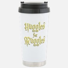 Hufflepuff Huggles Stainless Steel Travel Mug