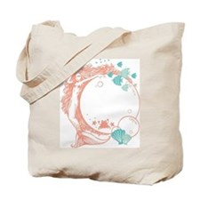 Cute Crab fishing Tote Bag