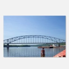 Spans the Mississippi Riv Postcards (Package of 8)
