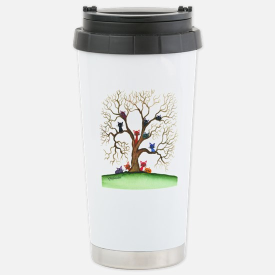 Fayetteville Stray Cats Stainless Steel Travel Mug