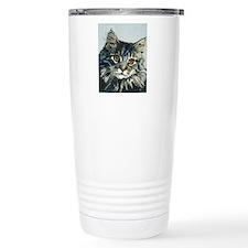 Elfin Maine Coon Cat by Travel Mug