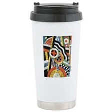Painting Number 5 by Ma Travel Mug