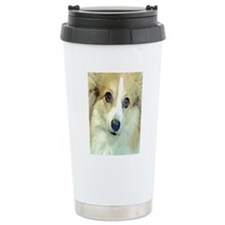 Sweet Corgi face Travel Mug
