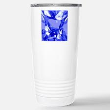 Blue sapphire-look faux Travel Mug