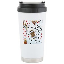 Spread out game cards Travel Coffee Mug