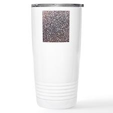 Faux silver glitter Travel Mug