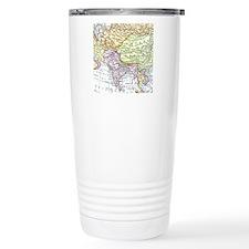 Vintage map of Asia Travel Coffee Mug