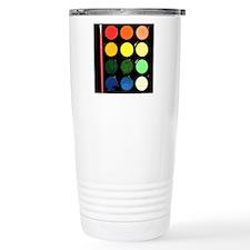 Paint box colors Travel Mug