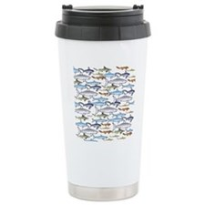 School of Sharks t Travel Coffee Mug