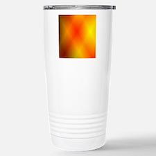 Bright Burnt Orange Stainless Steel Travel Mug