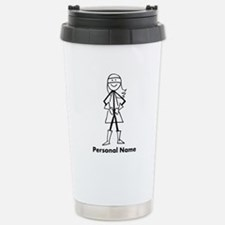 Personalized Super Girl Travel Mug
