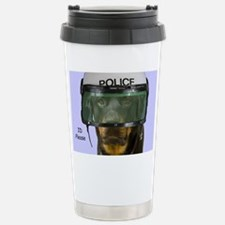 Rottweiler Police Birth Thermos Mug