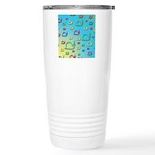 Colorful snails Travel Coffee Mug