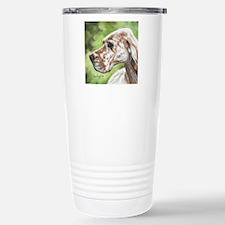English Setter Profile Travel Mug