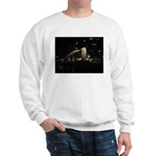 The Singapore Merlion At Night Sweater