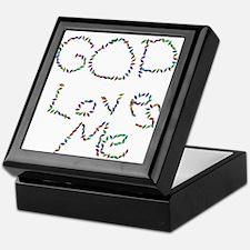 God Loves Me Keepsake Box