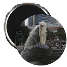 The Singapore Merlion Magnet