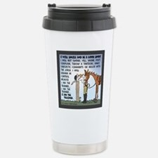 I Am The Trainer Stainless Steel Travel Mug