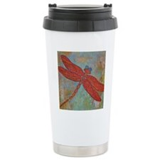 Dragonfly 2 Travel Coffee Mug
