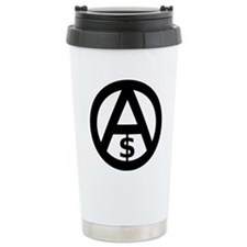 Anarcho-Capitalism Travel Mug